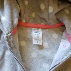 Carter's Jackets & Coats - Carters infant zip up sweater 0-3 months